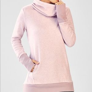 NWOT Fabletics Zaylee Fleece Hoodie Size L